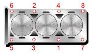 Torque de cabeza motor Ford 1.0 Ecoboost M1DA