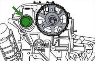Como poner a tiempo una Dodge Nitro 2.8L