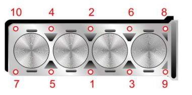 Torque de la cabeza de cilindros Moro TDi 1.6L