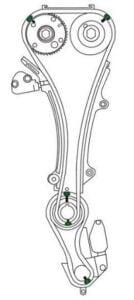Cómo poner a tiempo el motor Nissan X-Trail QR25DE