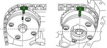 Cómo poner a tiempo el motor 1NR-FE Toyota