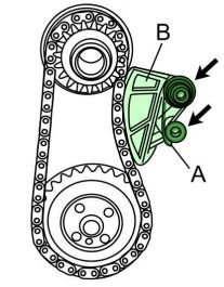 Cómo poner a tiempo el motor Volkswagen TSi 1.4L