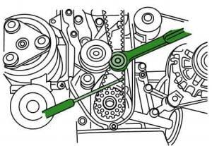 Cambiar Banda dedistribucion Hyundai Accent / Verna