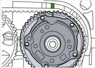 ¿Cómo poner a tiempo la correa de distribución del motor Volkswagen Up!?
